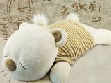 厂家批发供应 米布甜甜熊抱枕 趴趴熊毛绒玩具公仔