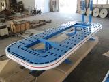 厂家直销腾飞锰钢板大梁校正仪整板汽车手术台