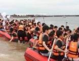 夏日海边团建拓展南戴河2天1夜沙滩拓展训炼