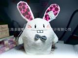 团批|一件起批【爆牙公毛绒兔子公仔 6寸】爱情公寓|美嘉兔子
