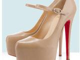 春秋女鞋新款  欧美大牌搭扣超高跟厚底圆头细跟单鞋 213