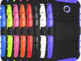 新款MOTO E  XT1022 二合一支架手机壳 格纹 真机开