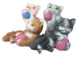 厂家直销整蛊玩具仿真动物bb叫整人惨叫猫玩具 外贸出口玩具