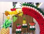 北京婚房气球布置,求婚气球装饰,party气球装饰