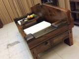 厂家直销老船木茶桌椅组合客厅中式功夫茶桌沉船木泡茶台