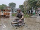 湖北荆门宜昌玻璃钢小女孩雕塑