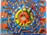 木制玩具磁性环形迷宫 运笔亲子互动玩具 运笔迷宫 比赛玩具