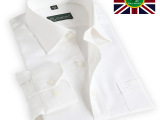 保罗 2014新款春装高档全棉衬衣纯色系列液氮免烫男士长袖衬衫