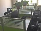 办公卡位屏风电脑12套沙发老板桌等全套办公设备9成新低价急转