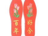 跑江湖地摊最新暴利产品 男女士绣花 十字绣鞋垫 喜庆婚礼用品
