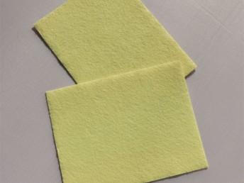 优质阻燃毛毡 芳纶布 服装芳纶无纺布 手套阻燃耐高温材料