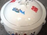 饭鼓器形陶瓷罐子厂家批发供应定做酒酿陶瓷罐米酒罐子加工定制