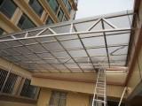 北京卷簾門維修 石景山耐力板玻璃雨棚安裝