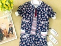 十大品牌童装欧妮卡春夏装隆重上红熊谷品牌童装批发