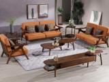 北欧白橡木实木沙发