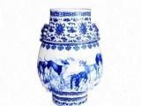 青花缠枝莲十犬纳福龙耳尊 将打造陶瓷史上盛世篇章