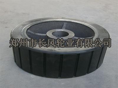长风轮业专业供应摩擦搅拌机胶轮,哈尔滨摩擦搅拌机胶轮厂家