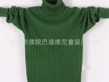 男童毛衣 儿童针织衫 童装羊毛衫 羊绒衫 秋冬新款立领针织毛衣