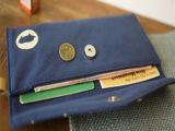 森林系日系帆布长短款钱包彩色小动物零钱包 长款钱夹订货