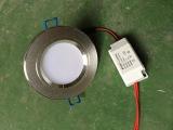 LED灯LED节能灯LED筒灯 LED灯具3W2.5寸8公分 筒