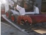 久達大象牌4米山貓滑移上下車鋁爬梯