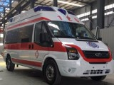 兰州市长途救护车出租正规120救护车出租