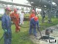 东营管道吸污I高压清洗管道777清洗0626炼油工厂管道