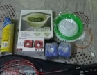 羽毛球拍1对+羽毛球5个+小音箱1对+USB照明灯