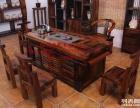 老船木茶几沉船木茶桌椅组合中式功夫泡茶台小型阳台茶桌实木家具