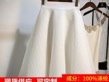 专业生产涤纶面料三明治网布透气服装小网孔