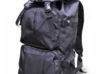 一件代发可折叠背包/大容量防水登山双肩包/男短途旅行包/运动包