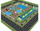 水上冲关水上冒险水上乐园制造厂家定制制造