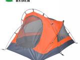 供应批发Ryder/莱德 天狼星 双人双层铝杆帐篷 多人户外野营