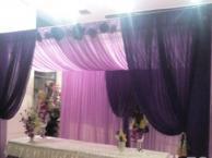 专业的婚礼背景定制,现场布置燕子婚庆背景