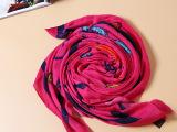 2014欧洲站大牌英伦风经典羊毛围巾高档品质logo女披肩围巾