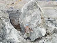 岩石静爆开山碎石静爆机械