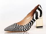 2015春夏新款欧美外贸真皮单鞋走秀性感高跟鞋欧洲站女鞋一件代发