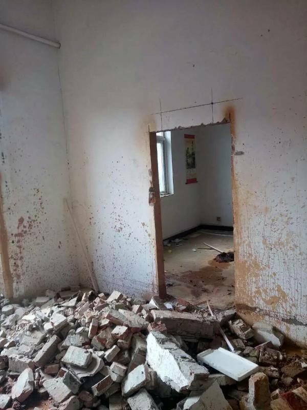 青岛水锯切割拆除砸墙打孔