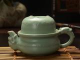 福网 汝窑茶具 汝瓷快客杯 功夫茶具 旅行茶具 个人专用厂家直销