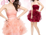 2014春夏新礼服韩式公主新娘韩版抹胸蓬蓬裙婚纱厂家批发价