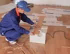 专业的木地板安装师傅