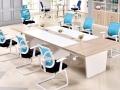 凯佳家具新款时尚板式公司商务办公前台接待台办公桌咨询台质量好