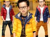 童装同款男童冬装 儿童棉衣 男孩加厚棉袄外套大童韩版批发