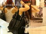 2012 新款热卖欧美帆布包女包单肩包斜挎包韩国女包包8089#