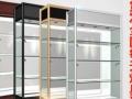 仓库仓储货架 超市货架 角钢货架 木质柜钛合金展柜