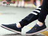 韩版帆布鞋男牛仔布鞋透气男士休闲鞋百搭潮流男鞋夏季新款低帮鞋