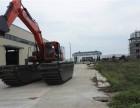 红安县江南公司水陆挖机出租水陆挖掘机租赁服务注册
