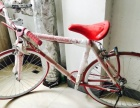九五成新 红色时尚山地自行车