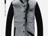 14秋冬新款男士开衫立领夹克 时尚英伦风潮夹克品牌男装厂家直销