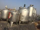 二手不锈钢罐 反应釜 颗粒机 混合机 夹层锅 冷凝器